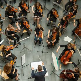 Bild: Musikschule Blaubeuren: Händels Wassermusik