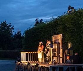 Bild: TAND, TAND IST DAS GEBILD VON MENSCHENHAND   Theodor Fontane - inszeniert und aufgeführt von theater89