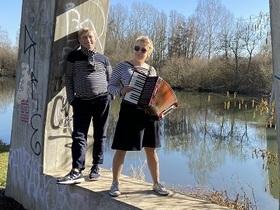 Bild: Am Fluss - die Fulda