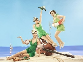 Bild: Sommer, Sonne, Swingmusik