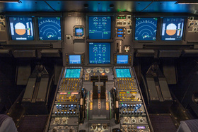 Bild: A320   Flugsimulator