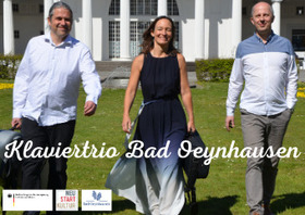 Bild: Livestream - Klaviertrio Bad Oeynhausen - spielt Beethoven und Schubert