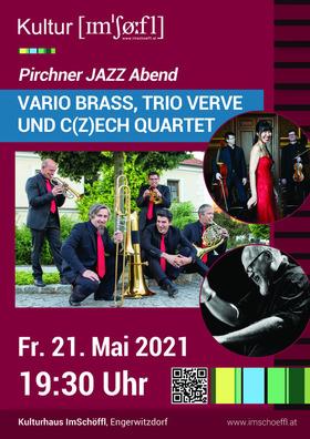 Bild: Werner Pirchner Abend - Vario Brass, trio verve, C(z)ech Quartet