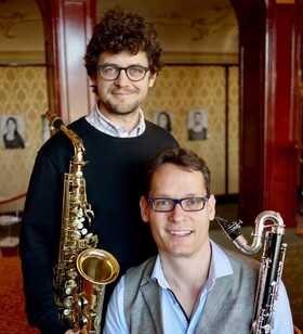 Bild: Duo Saxophon und Bassklarinette