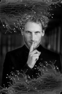 """Bild: """"Yann Yuro - Der Mind_Hacker"""""""