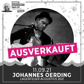 Bild: Johannes Oerding - Lagerfeuer Acoustics Tour 2021