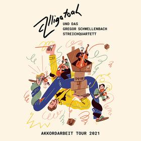 Bild: ALLIGATOAH - Akkordarbeit - & das Gregor Schwellenbach Streichquartett