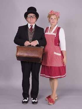 Bild: Ida Ott & Karl-Heinz Dünnbier - Rosa kocht und Herr Dünnbier zaubert