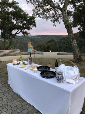 Bild: Schlenderweinprobe mit Führung auf der Loreley - Weinprobe mit dem Weingut Hillesheim, Kaub