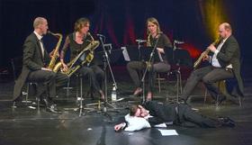 Bild: Der Barbier von Sevilla - mit Boris Aljinovic und dem Saxophonquartett clair-obscur