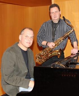"""Bild: Christof Sänger und Peter Linhart - """"Art of the Duo"""""""