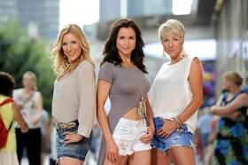 Bild: Stefanie Hertel mit Anita & Alexandra Hofmann