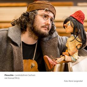 Bild: Pinocchio - Figurentheater