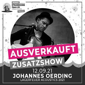 Bild: Johannes Oerding - Lagerfeuer Acoustics Tour 2021 (Zusatzshow)