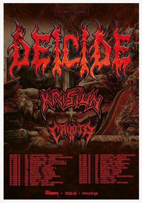 Deicide - Deicide & Krisiun European Tour 2022