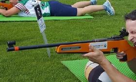 Bild: Testreihe Fehmarn - Sommer Biathlon für Kinder und Jugendliche