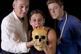 Bild: Hamlet stirbt....