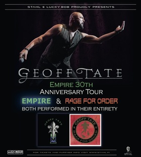 GEOFF TATE - 30th Anniversary Empire Tour