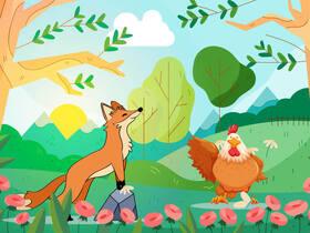 Bild: Sommertheater für Kinder - Von schlauen Füchsen & gewitzten Hühnern