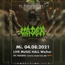 Bild: Vader - DE PROFUNDIS XXV - Album Reedition Tour 2021