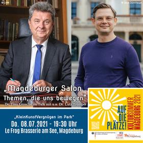 Bild: Magdeburger Salon - Themen, die uns bewegen mit u.a. Dr. Lutz Trümper