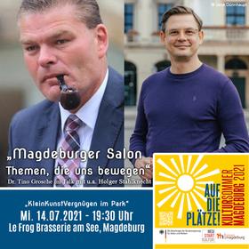 Bild: Magdeburger Salon - Themen, die uns bewegen mit u.a. Holger Stahlknecht