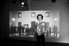 Bild: dogma chamber orchestra - Sergei Nakariakov, Trompete; Maria Meerovitch, Klavier