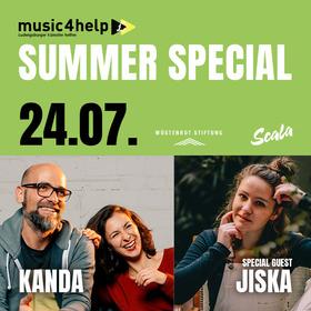 """Bild: Kanda & Special Guest """"Jiska"""""""