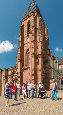 Bild: Tag der Literatur und Musik (Nachholtermin) - Stadtführung auf Goethes Spuren mit abschließender Orgelmusik im Dom (1. Gruppe)
