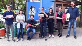 """Live-Hörspiel - """"Der Besuch der alten Dame"""" von Dürrenmatt"""