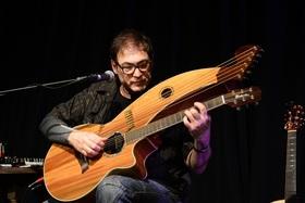 Bild: Fingerstyle Acoustic Guitar im Südbahnhof - Fingers Crossed Solo-Tour