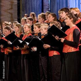 Bild: Eröffnungskonzert MDR-Kinderchor