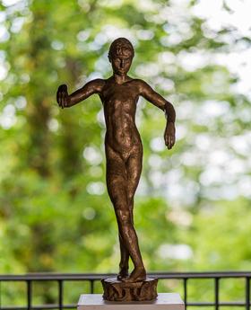 Bild: Führung durch den Skulpturensommer mit dem Bildhauer Kristof Grunert