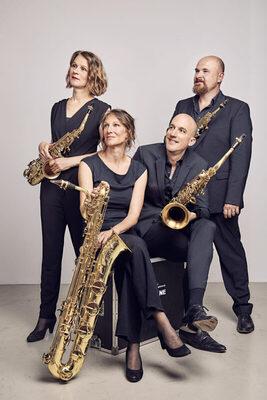 Bild: Saxophon-Quartett clair-obscur