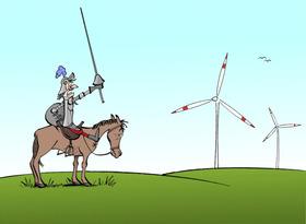 Bild: Windmühle für Dreigroschen