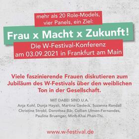 Streaming Konferenz: Frau x Macht x Zukunft! - Panel I