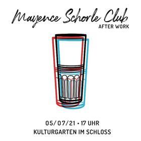 Bild: Mainzer KulturGärten im Schloss - MAYENCE SCHORLE CLUB