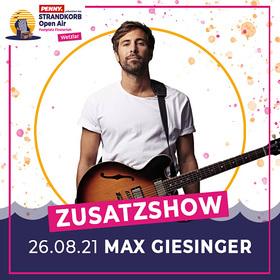 """Bild: Max Giesinger - ENDLICH AKUSTIK! OPEN AIRS 2021  """"Zusatzshow"""""""