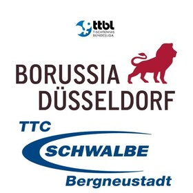 Bild: Borussia Düsseldorf - TTC Schwalbe Bergneustadt