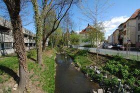 Bild: Spaziergang an der Wieseck von der Lahnstraße bis Bismarckstraße
