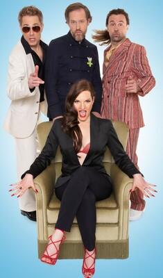 Bild: Weihnachtsprogramm - A-cappella-Comedy