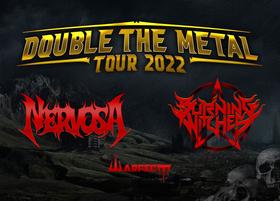 Bild: Nervosa + Warbringer - Double The Thrash Tour 2022