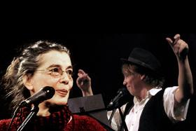 Bild: Liederabend mit Bettina Wegner und Karsten Troyke