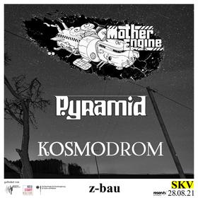 Bild: Pyramid + Kosmodrom + Mother Engine