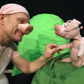 Bild: marotte Figurentheater - Piggeldy und Frederick