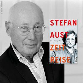 Bild: Stefan Aust im Gespräch mit Moritz Döbler