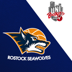 Bild: Rostock Seawolves - Uni Baskets Paderborn