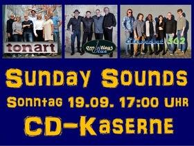 Bild: Kultur im Innenhof: Sunday Sounds - mit den Bands tonart, Ambitious Blue und Element 562 - Picknickkonzert
