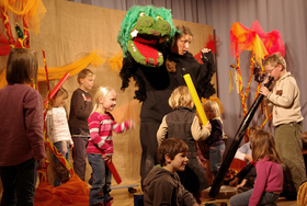 Bild: Der kleine Rabe Theobald - ***ausgewählt vom Land Schleswig-Holstein zum Kindertheater des Monats***