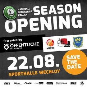 Bild: Season Opener VfL Oldenburg Handball